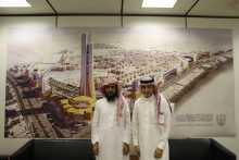 مساعد أمين أوقاف جامعة الأمير سطام بن عبدالعزيز يجتمع بأمين أوقاف جامعة الملك سعود